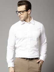 Marks & Spencer White Selection of 3 Slim Formal Shirts