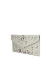 Alvaro Castagnino Cream-Coloured Clutch