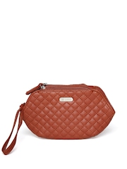 Lavie Women Brown Quilted Wallet