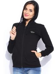 Sports52 Wear Black Hooded Sweatshirt