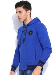 Sports52 Wear Blue Hooded Sweatshirt