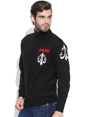 Sports 52 wear Black S52WSKDZ009 Cardigan