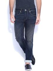Jack & Jones Blue Clark Regular Fit Jeans