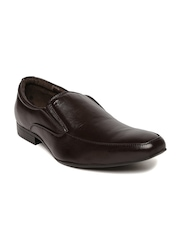 Nez by Samsonite Men Brown Leather Formal Shoes