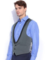 SUITLTD Grey Slim Fit Waistcoat