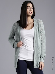 ETHER Mint Green Cardigan