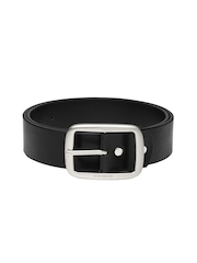 Peter England Statements Men Black Belt