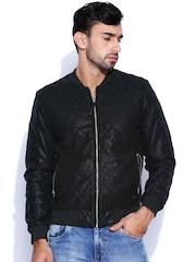 Ed Hardy Black Padded Jacket