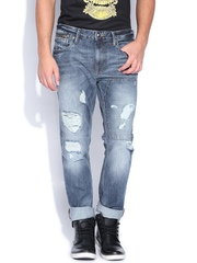 Ed Hardy Blue Slim Fit Jeans