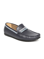 Gliders by Liberty Men Grey Loafers