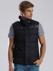 Tommy Hilfiger Black Padded Sleeveless Jacket