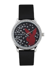 Playboy Women Black Dial Watch BPB-1005