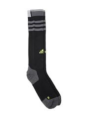 Adidas Unisex Black R E COMPRE TC1P Striped Running Socks