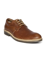 Buckaroo Men Brown Leather Casual Shoes