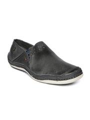 Buckaroo Men Grey Leather Casual Shoes
