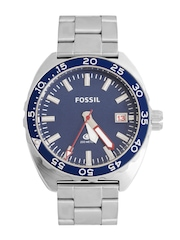 Fossil Men Blue Dial Chronograph Watch FS5048I