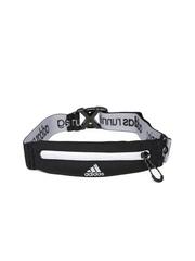 Adidas Unisex Black Run Belt Waist Pouch