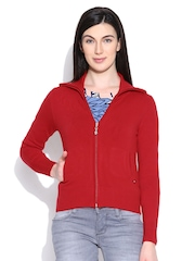Monte Carlo Red Cardigan