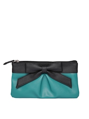 Peperone Women Teal Green Pouch