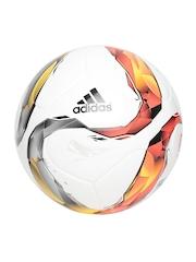 Adidas Men White DFL Top Training Printed Football
