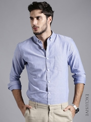 ether BLUE ANTI MICROBIAL OXFORD SHIRT