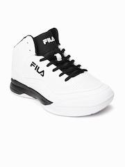 FILA Men White GUNNER Basketball Shoes