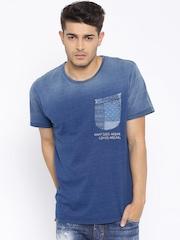 Mr. Bowerbird Blue Washed T-Shirt