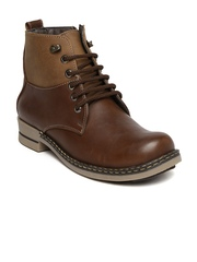 Gliders Men Brown Boots