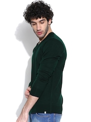 NU ECO Dark Green Sweater