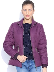 Fort Collins Purple Jacket with Detachable Collar