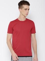Adidas Maroon UNCTL CLMCH T-shirt