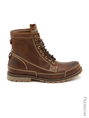 Timberland Men Brown Earthkeepers Waterproof Leather Boots