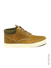 Timberland Men Brown Leather Casual Shoes