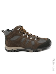 Timberland Men Brown Waterproof Leather Boots