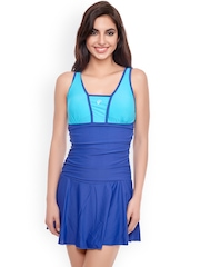 Penny Blue Swimwear with Removable Cups PYPYSMW008ELCBL