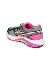 ASICS Women Grey Foundation 12 (D) Running Shoes
