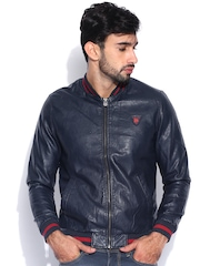 Being Human Clothing Navy Jacket