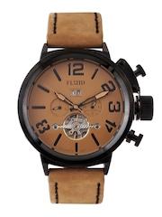 FLUID Men Brown Dial Watch FL158