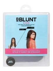 BBLUNT B Hive Dark Brown Crown Clip-in Hair Extension