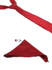 Alvaro Castagnino Men Red Accessory Gift Set