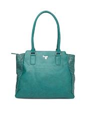 Baggit Teal Green Printed Shoulder Bag