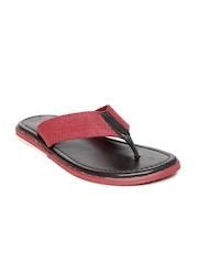 Estd. 1977 Men Red Sandals