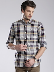 Tommy Hilfiger Multicoloured Checked Slim Casual Shirt