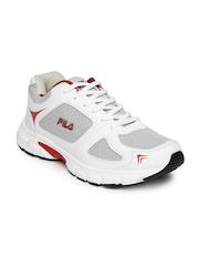 FILA Men White Run Fast Plus 2 Running Shoes