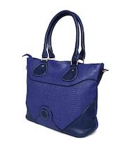 Hotberries Blue Shoulder Bag with Sling Strap