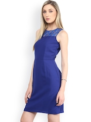 The Vanca Blue Tailored Dress