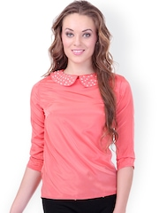 SASSAFRAS Coral Pink Top