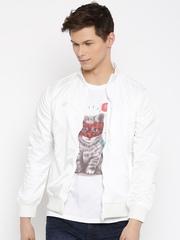 Van Heusen White Slim Fit Jacket