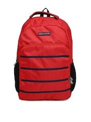 Tommy Hilfiger Unisex Red Biker Club-Colorado Backpack