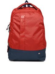 Tommy Hilfiger Unisex Red & Navy Biker Club-Basil Backpack